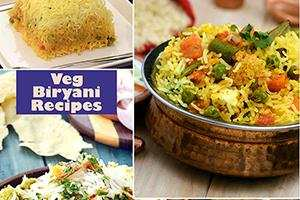 veg biryani recipes