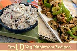 top 10 veg mushroom recipes