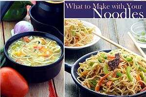 what to make with your noodles