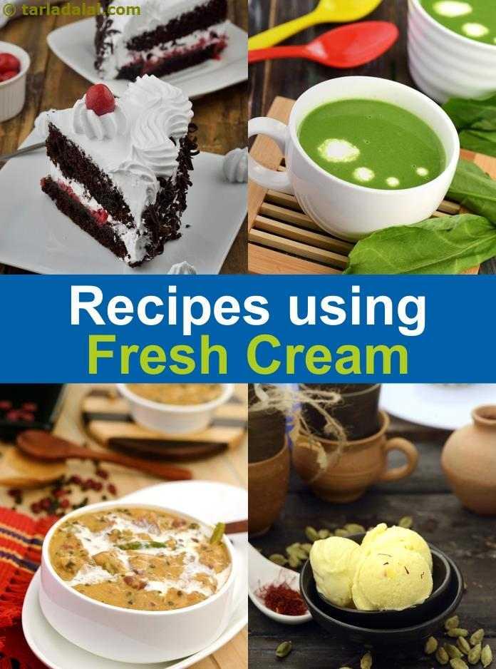 788 Fresh Cream Recipes Recipes Using Fresh Cream