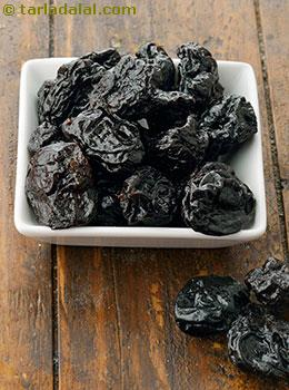 Prunes Glossary | Recipes with Prunes | Tarladalal com