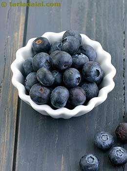 Blueberry Glossary | Recipes with Blueberry | Tarladalal com