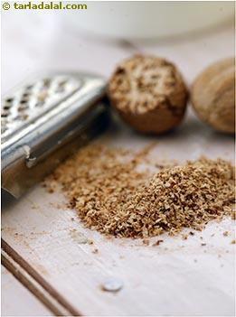 Nutmeg Glossary | Recipes with Nutmeg | Tarladalal com