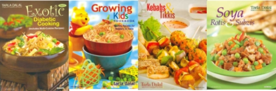 Free Tarla Dalal cookbooks