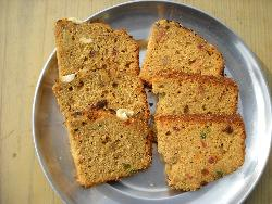 Jaggery and Wheat Flour Cake