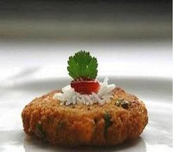 Corn-spinach and Cheese Tikki