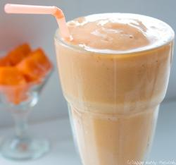 Peach Apple Smoothie