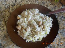 Cabbage Soya Chunky Rice
