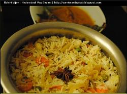 Vegetable Hyderabadi Biryani