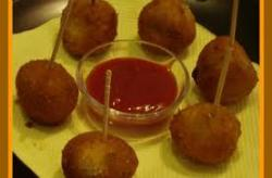 Party Cheese Corn Balls