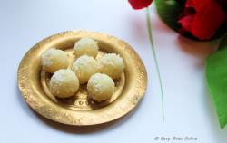 3 Minute Coconut Laddu