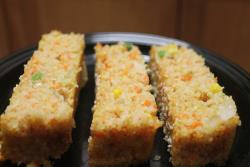 Cracked Wheat Savory Cake
