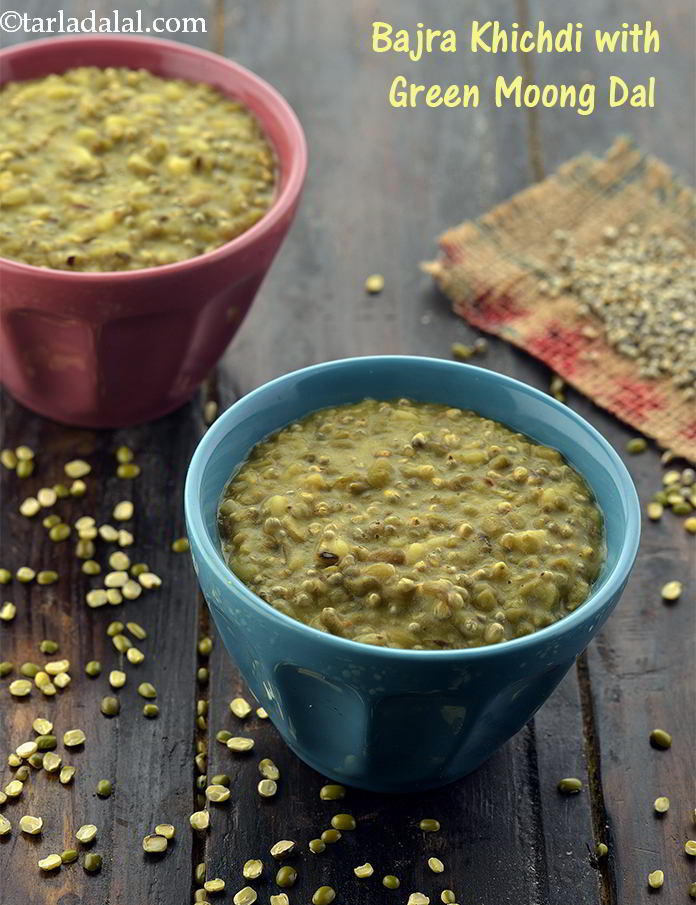 Bajra Khichdi ( Protein and Iron Rich Recipe)