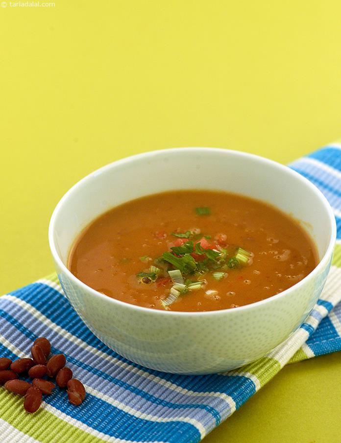 Bean Soup Kidney Bean Soup Recipe Soup Recipes Salad Recipes