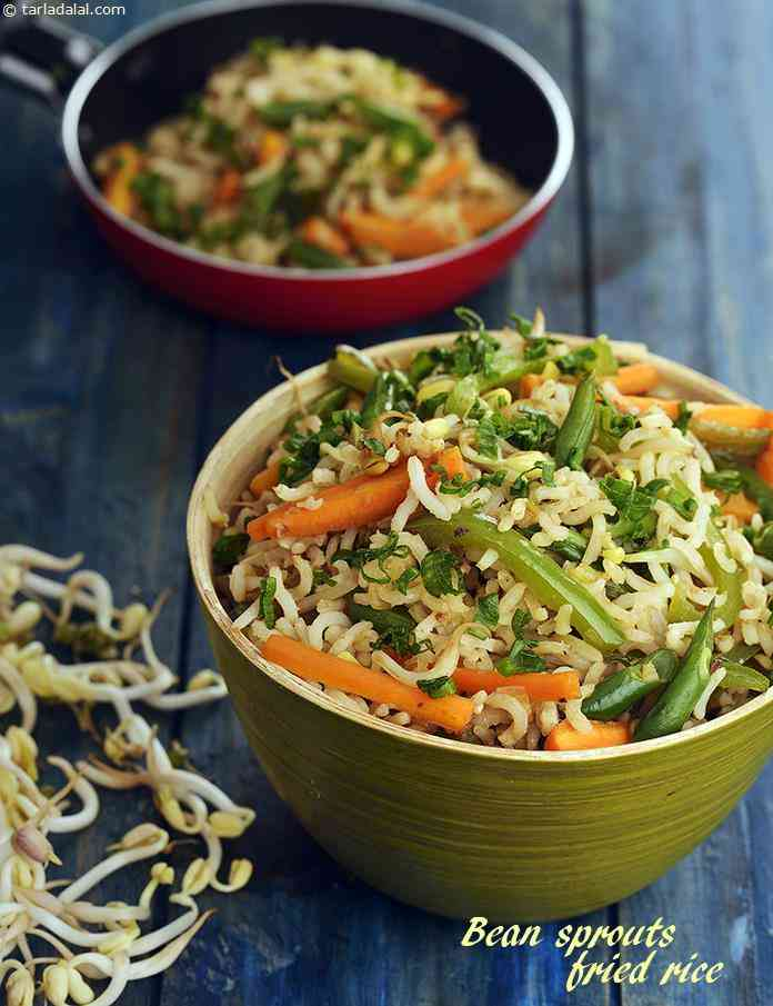 Bean Sprouts Fried Rice