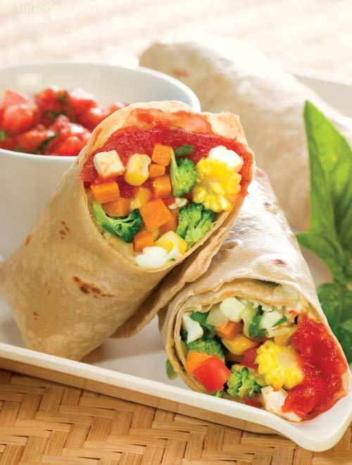 Burritos ( Healthy Diabetic Recipe )