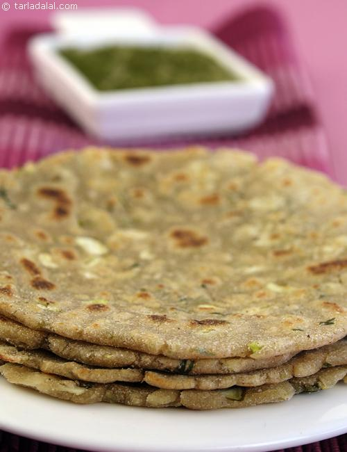 Cabbage Jowar Paratha, mildly spiced gluten free parathas are a a quick perk-up to start the day.