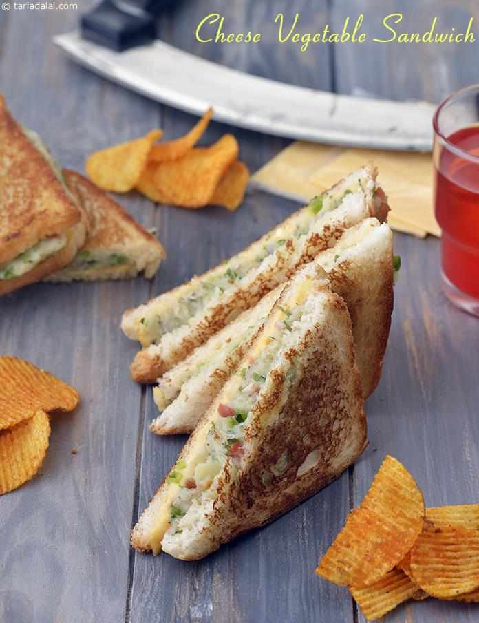 Cheese Vegetable Sandwich