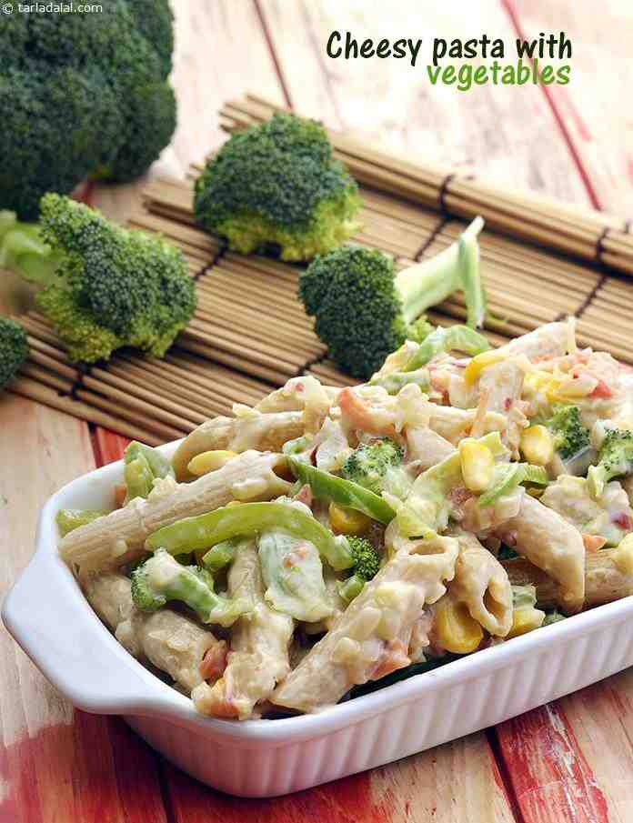 Cheesy Pasta with Vegetables
