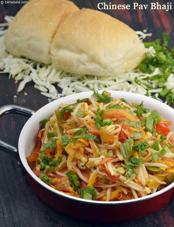 Chinese pav bhaji recipe by tarla dalal tarladalal 41197 forumfinder Images