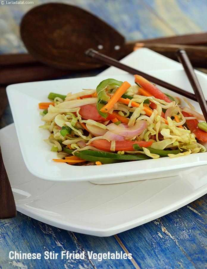 Chinese Stir- Fried Vegetables