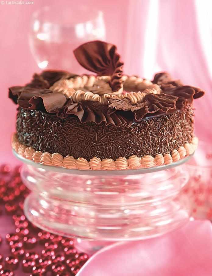 Chocolate Cake Recipe By Tarla Dalal