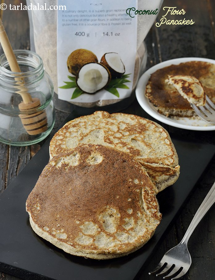 how to cook pancakes with coconut flour
