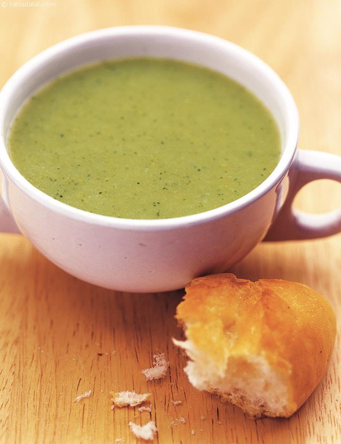 Cream Of Broccoli Soup ( Soups and Salads Recipe )
