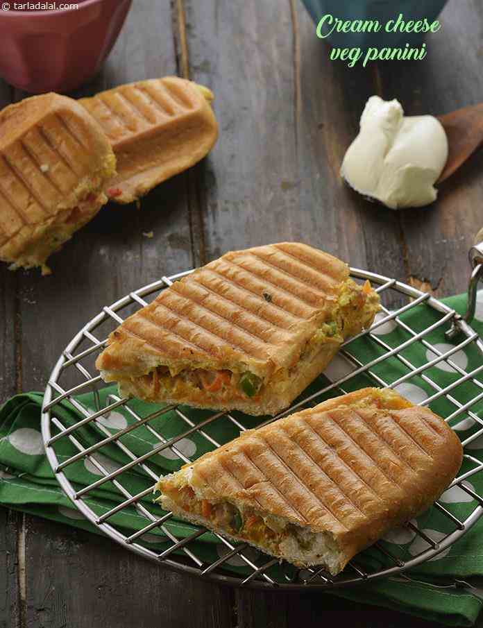 Cream Cheese Veg Panini