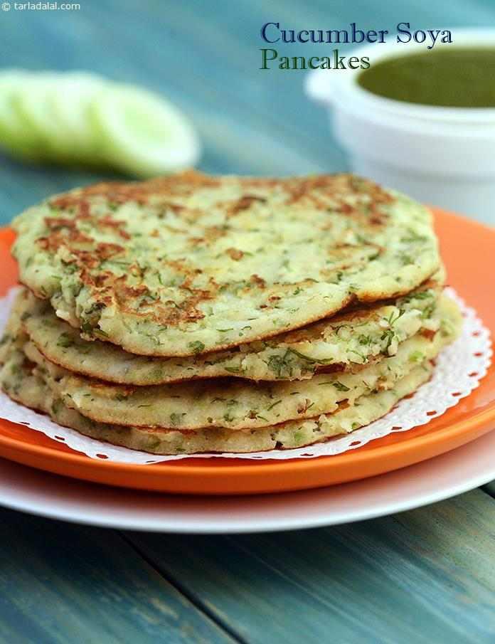 Cucumber soya pancake recipe by tarla dalal tarladalal 4651 by tarla dalal cucumber soya pancake forumfinder Gallery