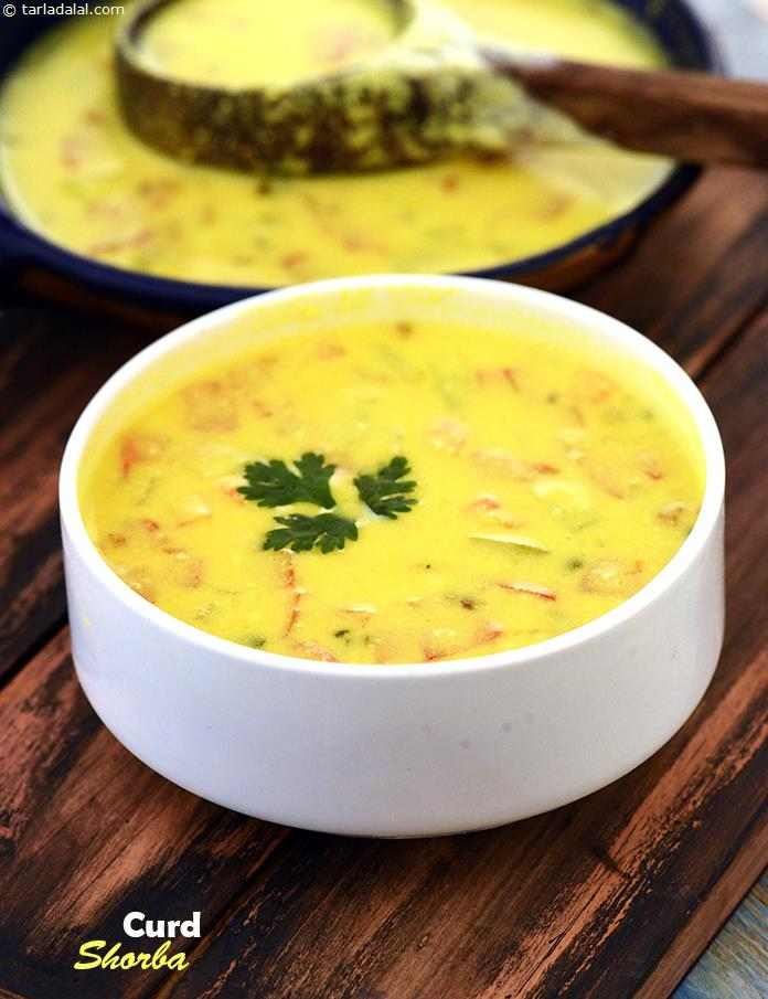 Curd Shorba Low Calorie Healthy Cooking