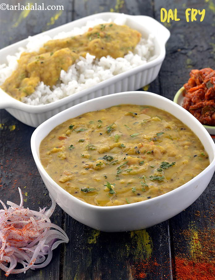 Dal Fry with Toor Dal
