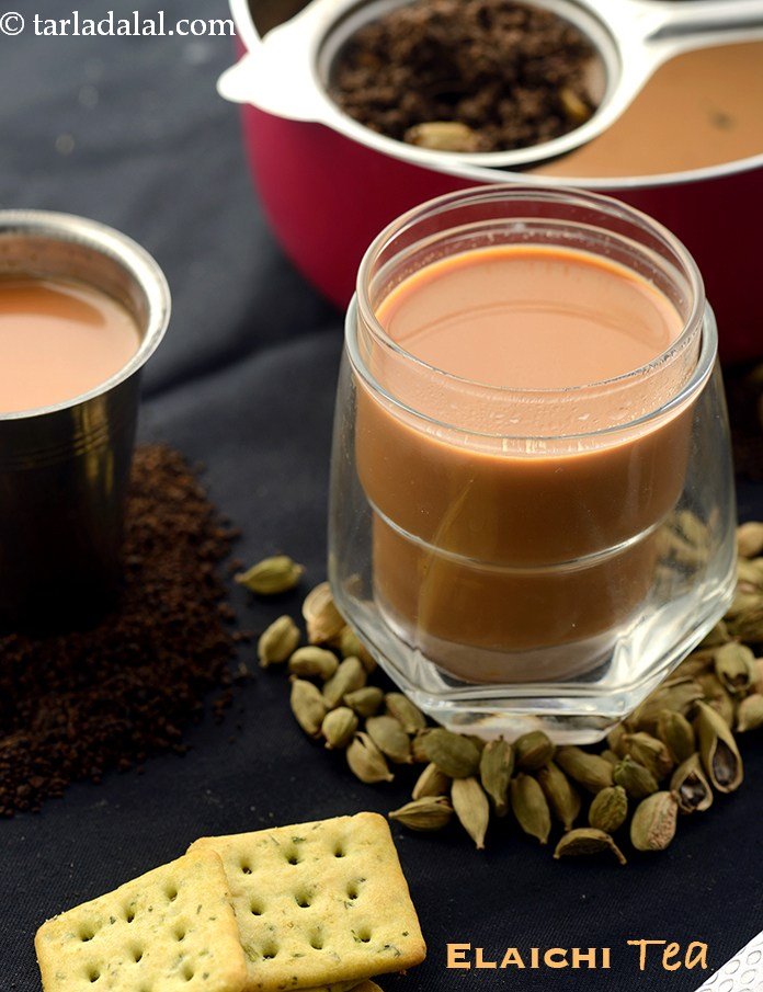 Elaichi Tea,  Indian Cardamom Tea, Elaichi Chaa