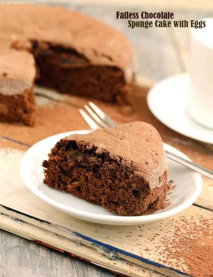 Fatless Chocolate Cake Recipe