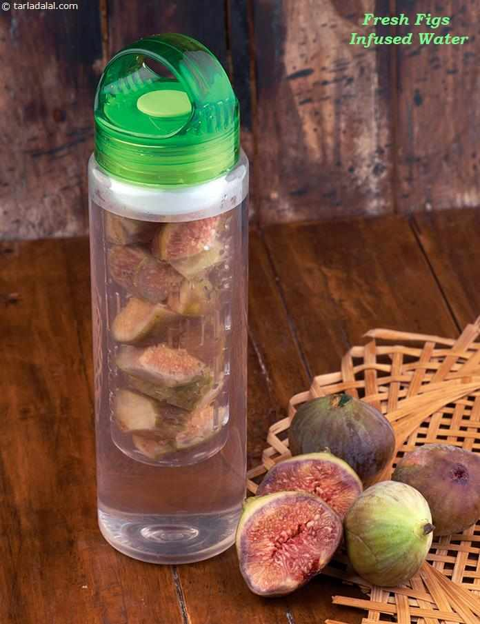 Fresh Figs Infused Water