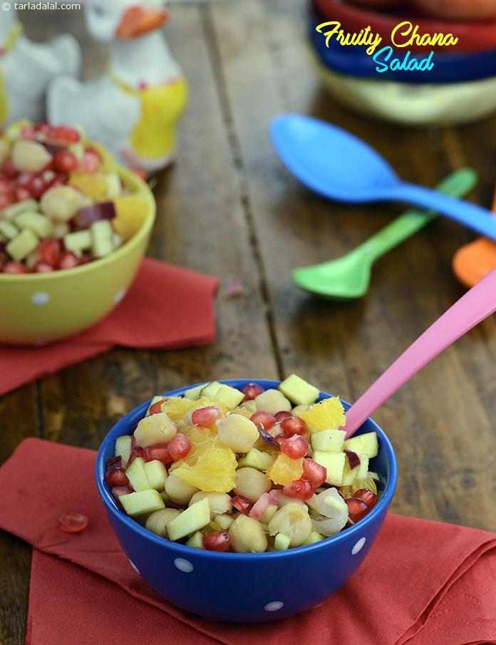 Fruity Chana Salad  ( Baby and Toddler)