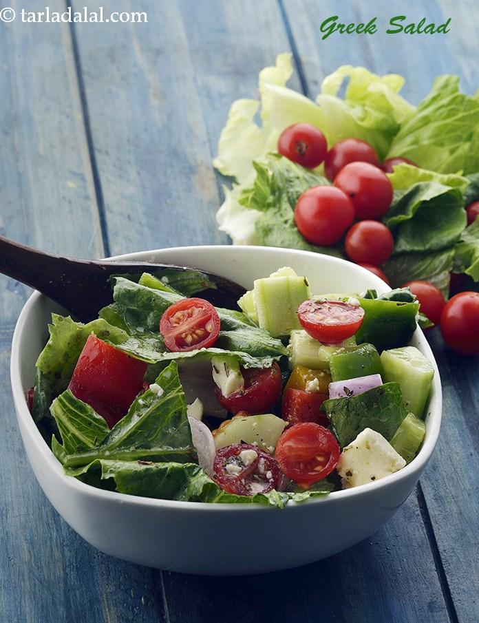 Greek Salad, Healthy Veg Greek Salad