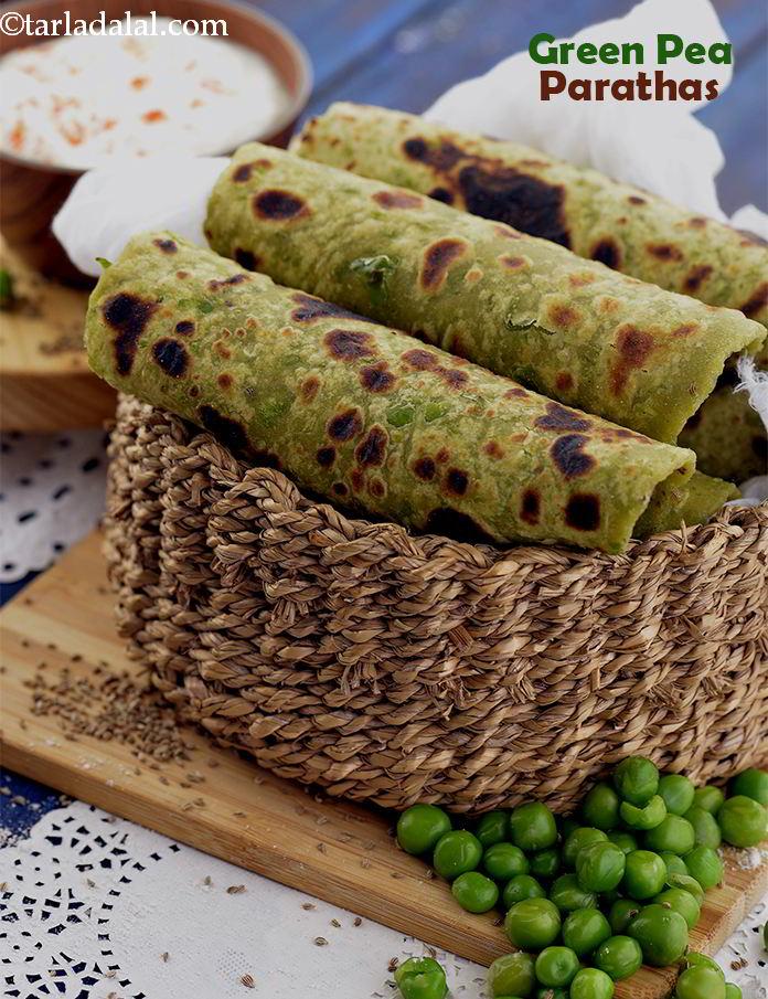 Green Peas Paratha For Diabetics Weight Loss Heart