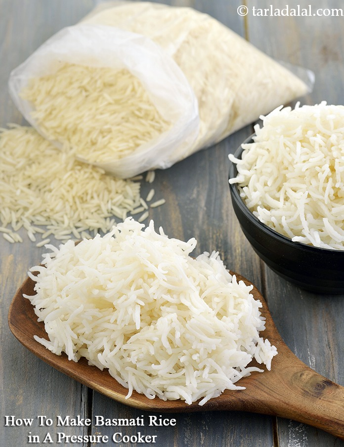 how to make basmati rice in a pressure cooker indian style recipe
