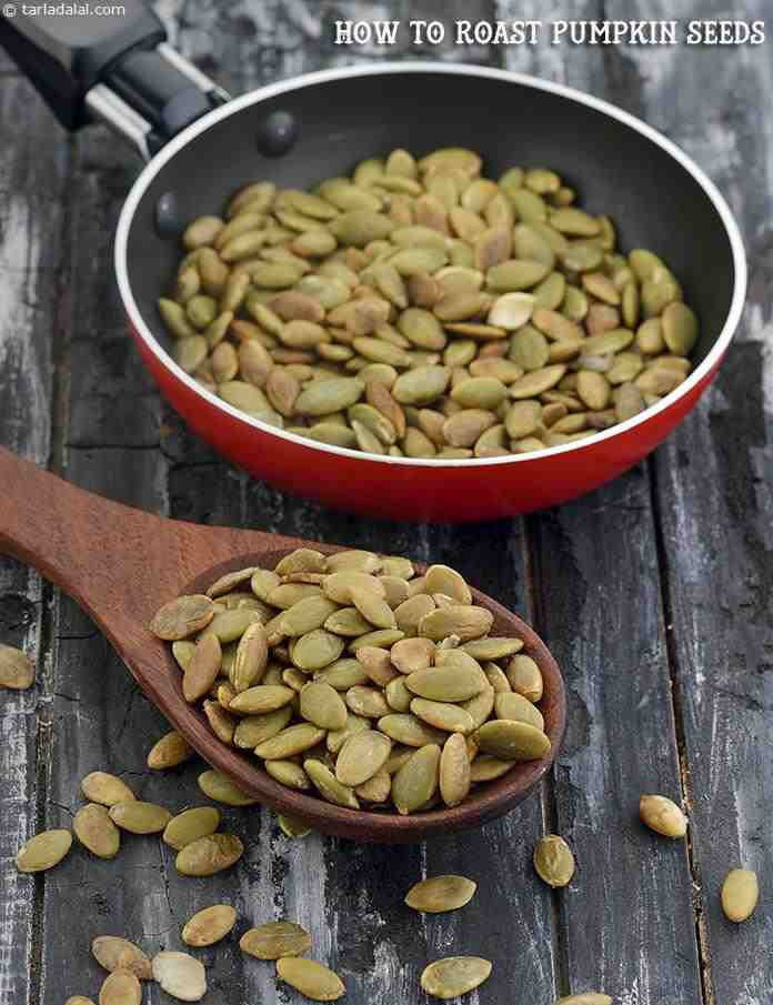 How To Roast Pumpkin Seeds, Roasted Pumpkin Seeds