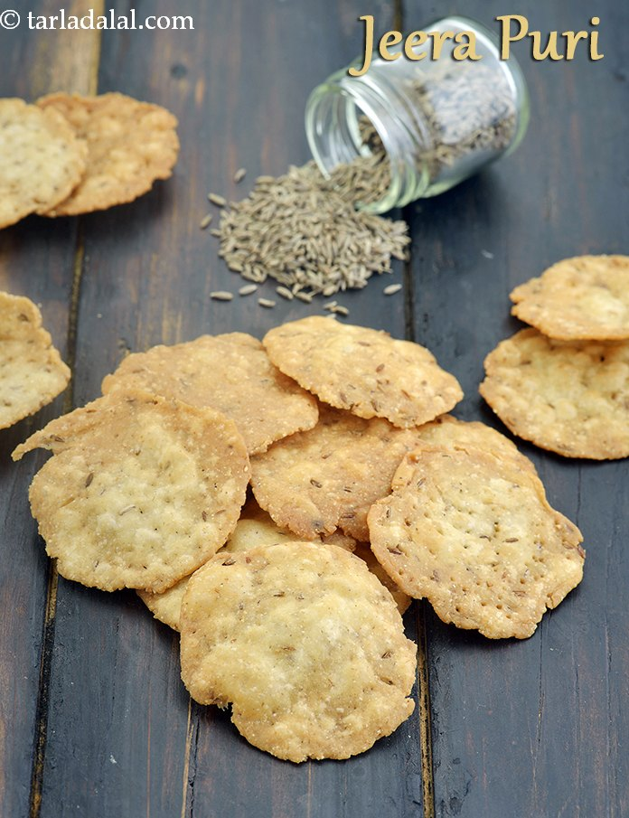 Jeera Puri, Kids School Snack Recipe
