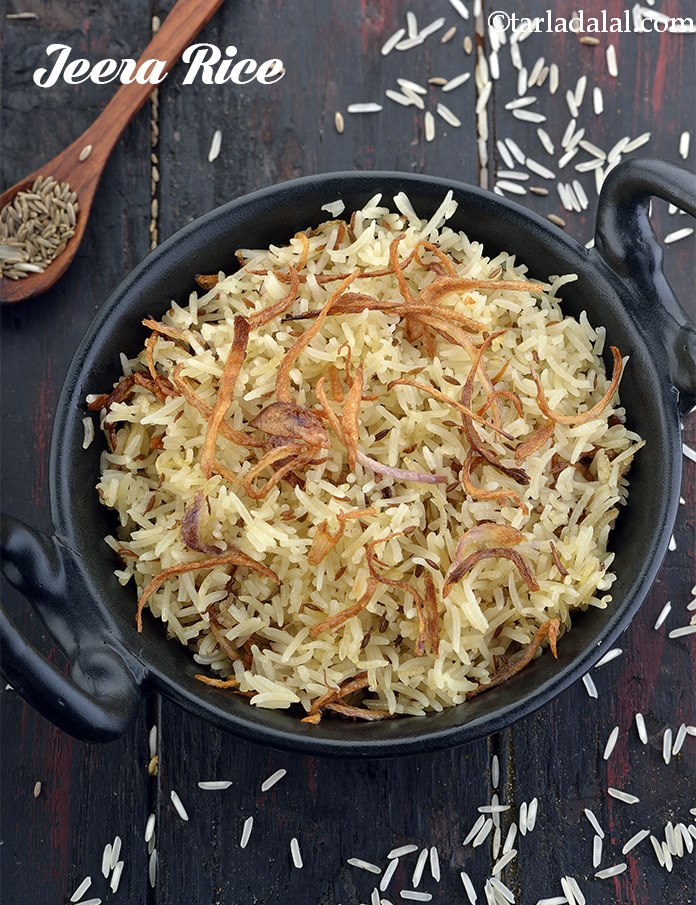 Jeera Rice, Quick Jeera Rice Recipe