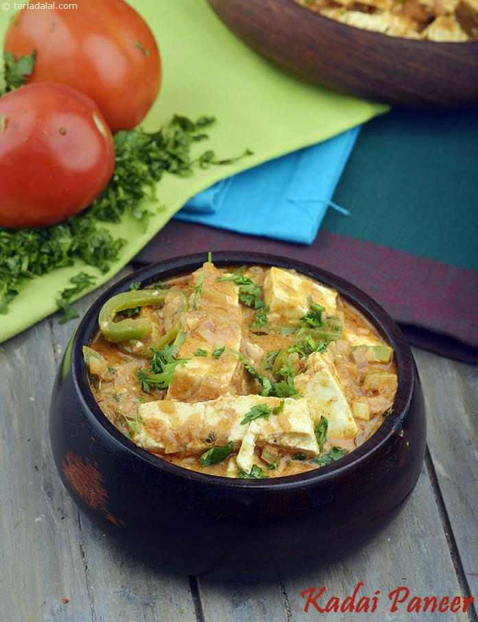 Nutritional value facts calories of kadai paneer tarladalal nutritional facts of kadai paneer calories in kadai paneer forumfinder