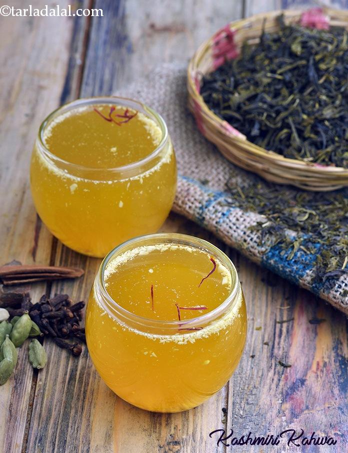 Kashmiri Kahwa, Kashmiri Tea