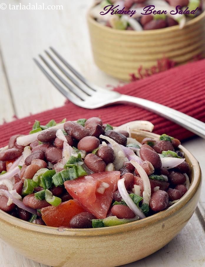 Kidney bean salad mexican kidney bean salad recipe mexican by tarla dalal kidney bean salad forumfinder Choice Image