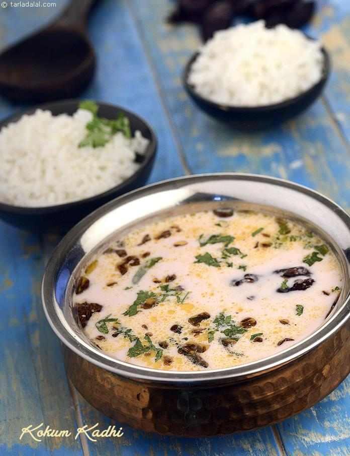 Kokum kadhi recipe curries recipes kadhis recipes by tarla by tarla dalal kokum kadhi forumfinder Images
