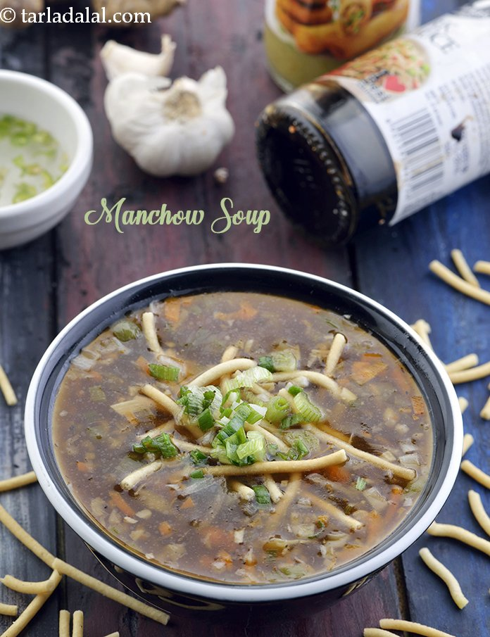 Manchow Soup, Chinese Recipe