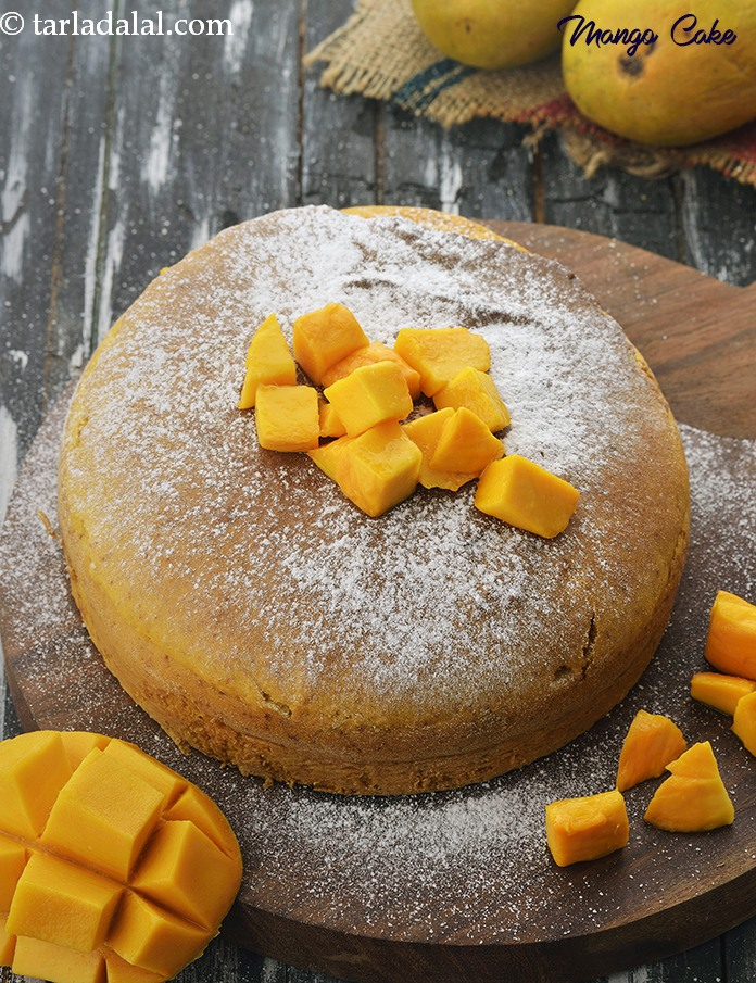 Pictures Of Mango Cake