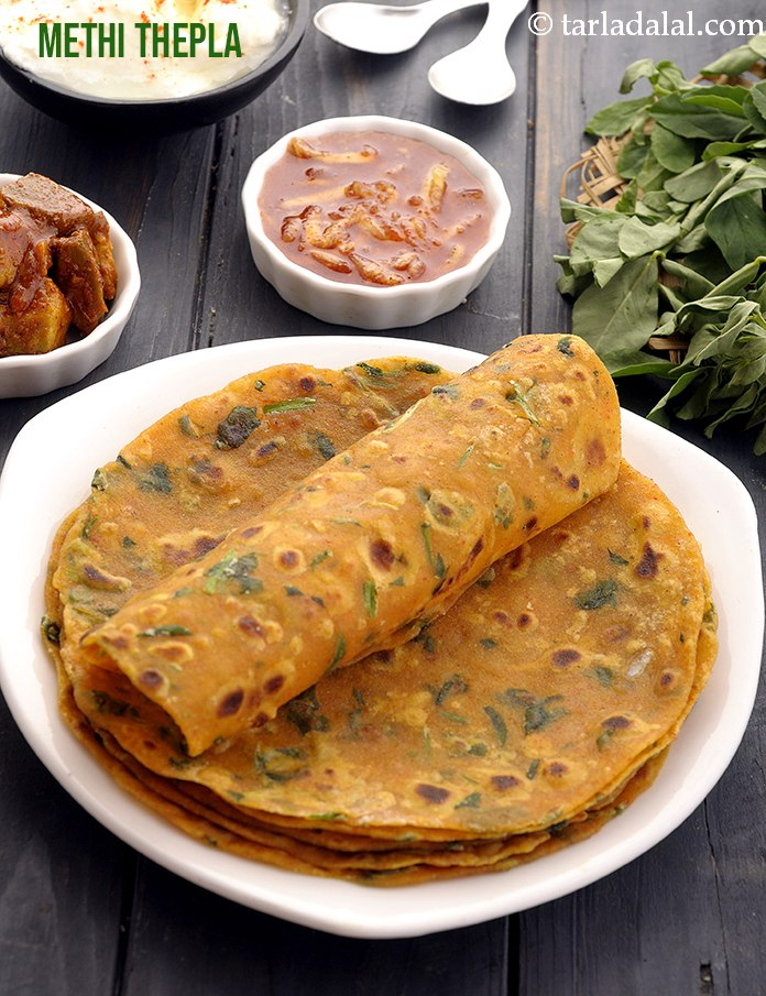 Methi Thepla, Gujarati Methi Thepla Recipe