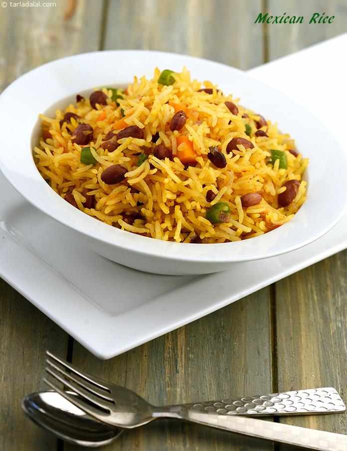 Mexican rice quick recipe recipe veg rice by tarla dalal by tarla dalal mexican rice quick recipe forumfinder Images